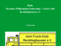 Mini-Truck Club Recklinghausen